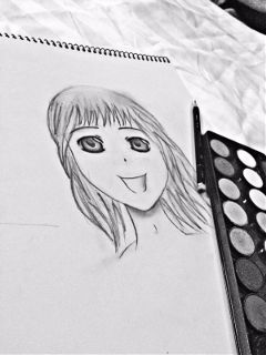 sketch baby_girl blackandwhite 2k16