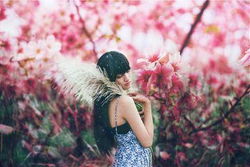 wapflowerportrait freetoedit portrait people flowers