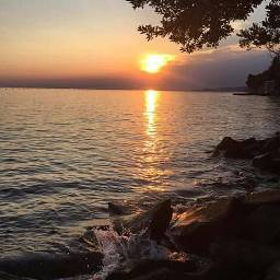 summer sunset nature photography trieste italy
