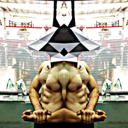 stronger strongman wednesday mirror abs