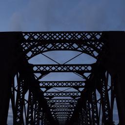 bridge rails smalltown sunset fromargentina freetoedit
