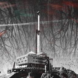 loop blackandwhite tower dream nightmare