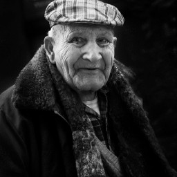 streetphotography blackandwhite black portrait oldman