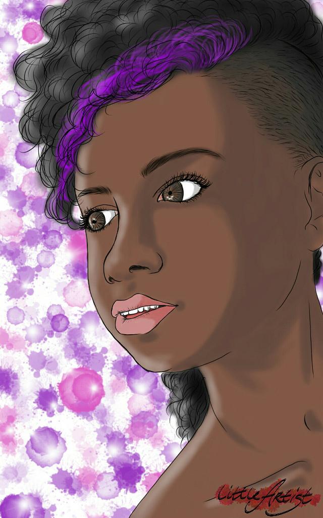 #colorful #colorsplash #people #art #artist #painting #sketchbookpro #digitalart #portrait #woman #illustration #drawing
