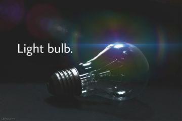 freetoedit lightbulb