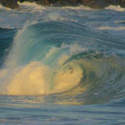 goldenhourlight beach surfphotography waves wave
