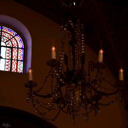 colorful freetoedit chandelier
