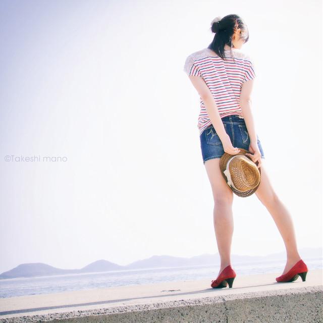#portraitphotography #portrait #portraits #womanportrait #woman #japan #summertime #summer #ocean