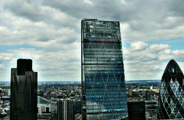 london hdr city skyscraper architecture