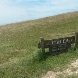 cliffwalk england fun summer nature