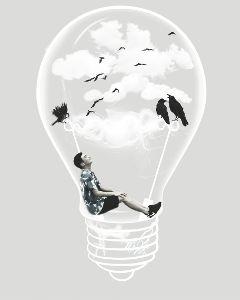 freetoedit edited lightbulb boy birds