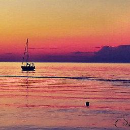 freetoedit emotions photography sunset sea pcafterdark