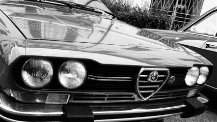 blackandwhite vintage cars madeinitaly alfaromeo