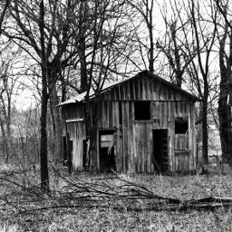creepy scary abandoned shack oklahoma