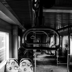 train abandoned bw bwphotography russia freetoedit