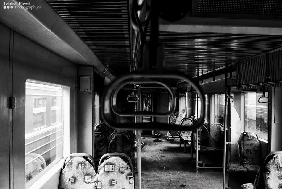 Abandoned train  #train #abandoned #bw #bwphotography #russia      #FreeToEdit
