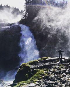 wppsports hiking mountain waterfall water freetoedit