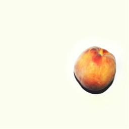 peach fruit mininal minimalism freetoedit