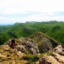 nature green sky mountain mountainviews